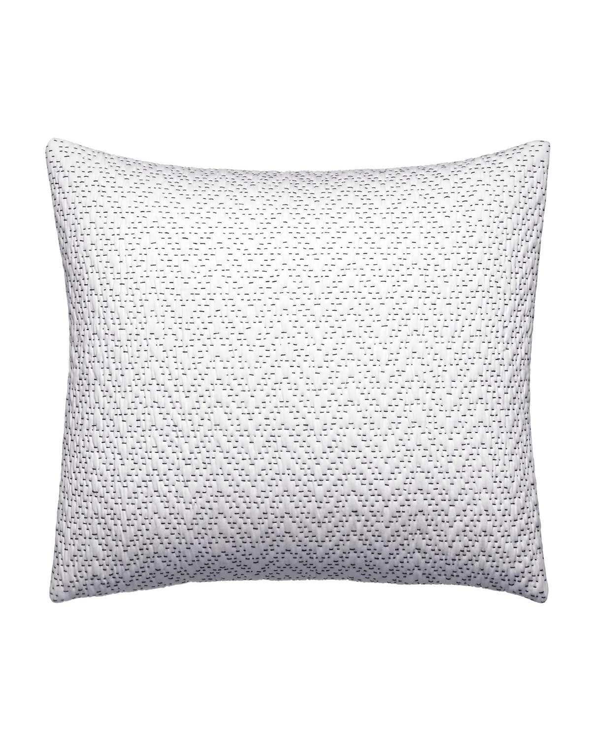 "Ink Botanical Zigzag Decorative Pillow, 12"" x 16"""